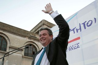 η στήριξη μέρους του ΣΥΡΙΖΑ προς το κόμμα του κ.Π.Καμμένου έχει προκαλέσει σοβαρές αντιδράσεις στο εσωτερικό του